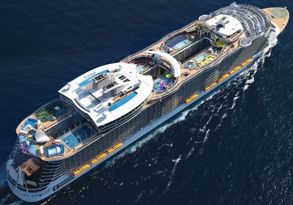 Read more about the article มารู้จักเรือสำราญ SYMPHONY OF THE SEAS กันเถอะ